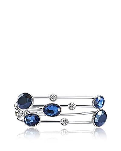 Saint Francis Crystals  silberfarben/blau Única