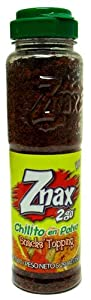 Znax 2go Chilito En Polvo Snacks Topping 5.29 Oz