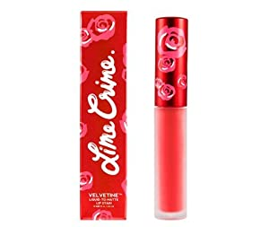 Lime Crime Velvetines Lip Gloss Suedeberry Light Retro Red