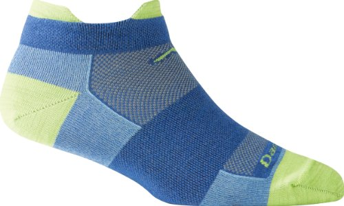 Ladies Merino Wool No-Show Tab Ultra Light Socks - Swedish Blue Dt1740