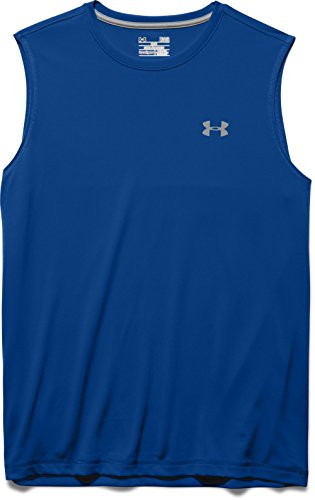 Under Armour Men's Tech Sleeveless T-Shirt - Royal, 3X-Large