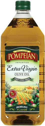 Pompeian Extra Virgin Olive Oil, 48-Ounces Bottle by 