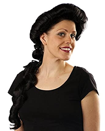 My Costume Wigs Women's Princess Jasmine Wig (Black) One Size fits all