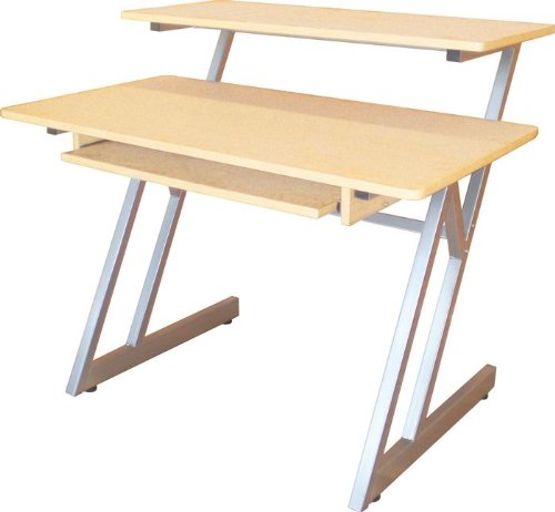 Music People Ws7500Mg On Stage Ws7500 Wood Workstation - Maple, Gray Steel