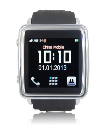 SVP Smartwatch Smart Bluetooth Watch Phone Anti-lost Sync for Android phone Mobile Phone Smartphone Black