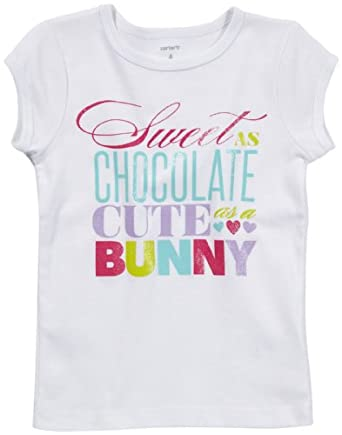 Carter's Toddler Easter Tee - White-2T