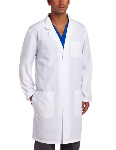 Dickies Everyday Scrubs Unisex 40 Inch Lab Coat - S to 5XL