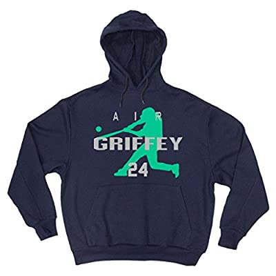 """Ken Griffey Jr Seattle Mariners """"AIR HOME RUN"""" Hooded Sweatshirt"""