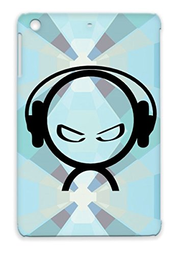 Tearproof Tpu Alien Dj Music Lover Wearing Headphones For Ipad Mini Music Headphones Dance Electronica Beat Djing Classical Alien Dance Black Protective Hard Case