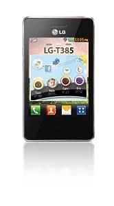 LG T385 Téléphone portable Ecran 3,2 pouces Bluetooth WiFi Noir