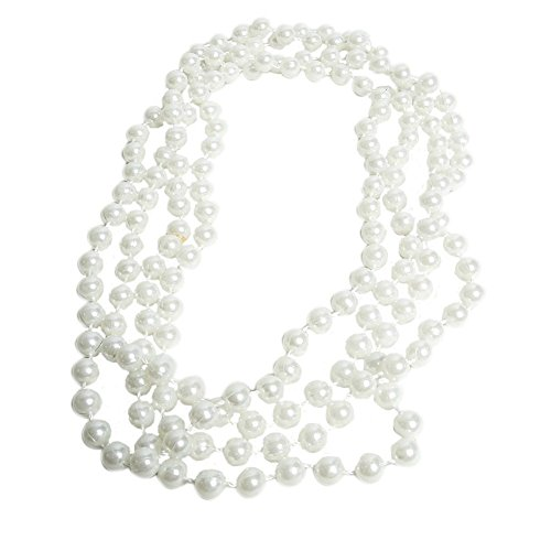 Flapper Beads Fake Pearl