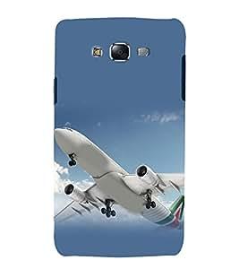 printtech Aeroplane Sky Jet Back Case Cover for Samsung Galaxy J1 / Samsung Galaxy J1 J100F