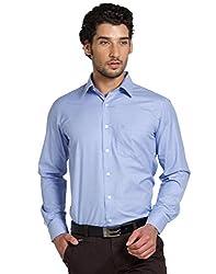 Klub Fox Blue Color Formal Shirt for men