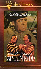 abbott and costello meet captain kidd vhs