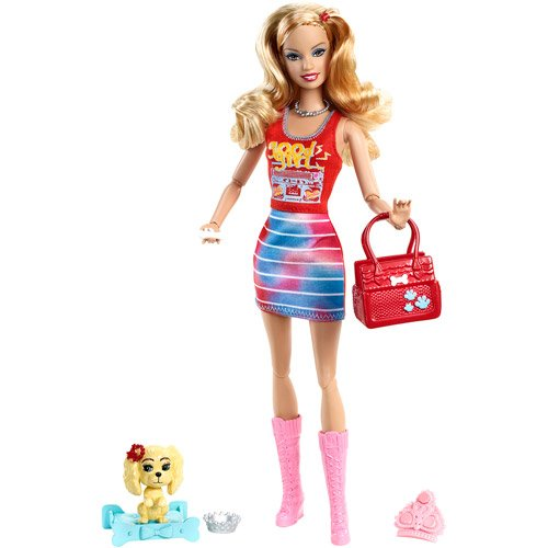 Barbie Fashionistas Summer Doll and Pet
