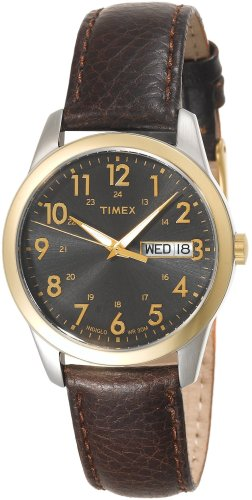 Timex Men's T2N106 Casual Dress Strap Watch