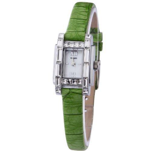 time100-fashion-diamond-square-shell-dial-green-leather-strap-ladies-watch-w50224l01a