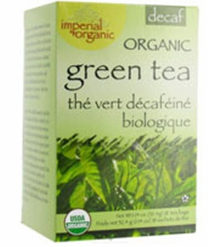 Uncle Lee'S Imperial Organic Tea - Green Decaf, 18-Count (Pack Of 4)
