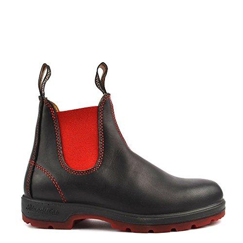 Blundstone Scarpe 1316 Stivali di Cuoio, Donna 37 EU Nero/Rosso