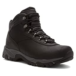 Hi-Tec Men\'s Altitude V I WP Hiking Boot,Black/Charcoal,10.5 M US