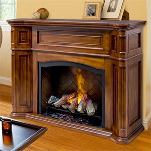Dimplex Thompson Optymist Electric Fireplace in Burnished Walnut picture B008LBEOX4.jpg