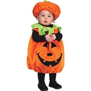 Soft and Comfy Pumpkin Infant Costume ソフトで快適なカボチャ幼児コスチューム サイズ:Infant (Up to 24M)