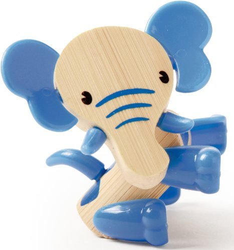 Hape Mini-mals Elephant Bamboo Play Figure - 1