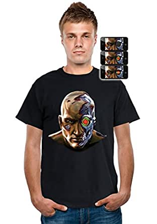 Morphsuits Men's Digital Dudz Cyborg Shirt Halloween