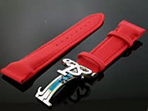 Jacob & Co 22mm Wide Red Color Poly Watch Band Good for 47mm Watch