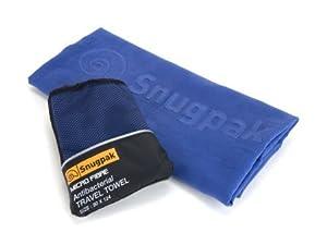 Snugpak Microfibre Antibacterial Towel Olive Medium 24 X 36 Inch Quick Drying Bacteria Resistant