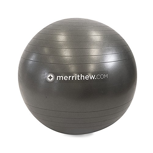 STOTT PILATES Stability Ball with Pump Stability, Grey, 29