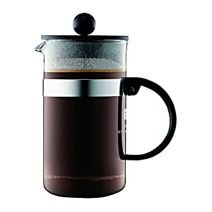 Bodum Bistro Nouveau French Press Coffee Maker, 3 Cup, 12-Ounce