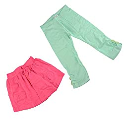Bio Kid Twin Style - Brook Green & Neon Pink - 2 Ps Pack(6-7 Years)