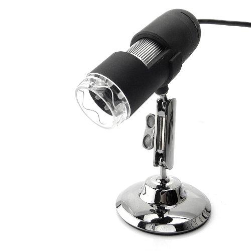 600X 2.0Mp Pixel Usb Digital Microscope Black