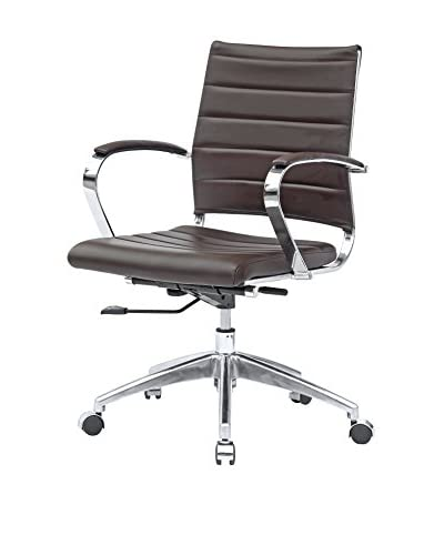 Manhattan Living Sopada Conference Office Chair, Dark Brown