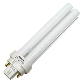 Philips 383307 - PL-C18W/30/4P/ALTO Double Tube 4 Pin Base Compact Fluorescent Light Bulb