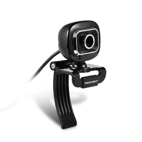 Tecknet® C015 Webcam Camera, 5 Megapixel, Built-In Microphone 5G Lens