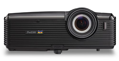 ViewSonic PRO8300 1080p DLP Home Theater Projector, 3,000 ANSI Lumens - Black