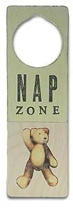 Tree By Kerri Lee Wooden Doorknob Sign, Nap Zone