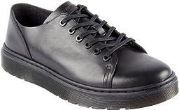 Dr. Martens R16736001 Mens Dante Brando 6 Eye Raw Shoe,Black-9
