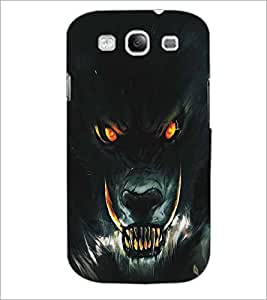 PRINTSWAG WOLF Designer Back Cover Case for SAMSUNG GALAXY S3