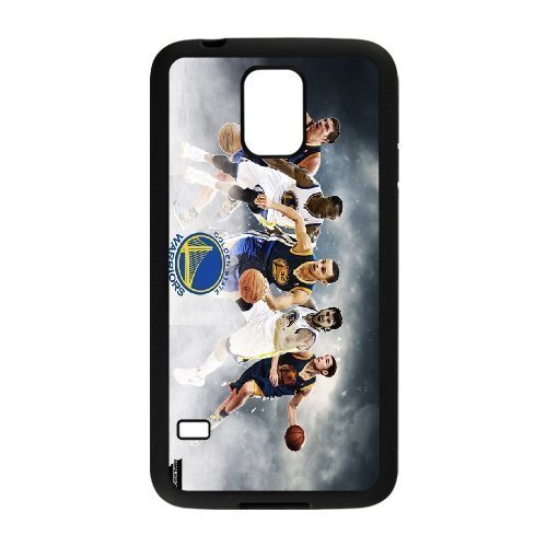 Golden State Warriors 2 Custom Phone Case Design for Samsung Galaxy S5 covers with Balck Laser Technology