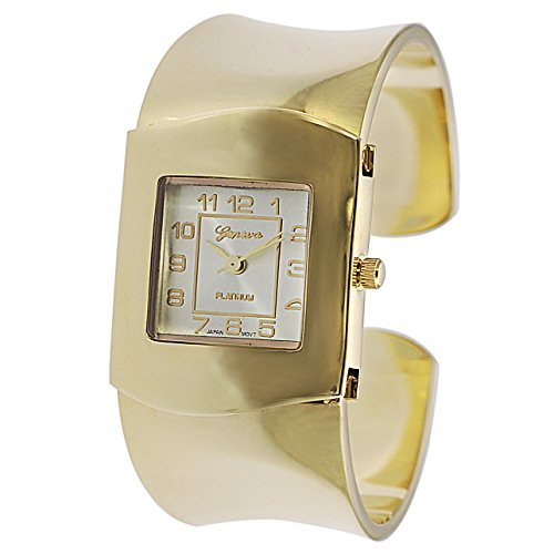 Geneva Platinum Polished Elegant Women's Fashion Watch (Geneva Platinum Women Watches compare prices)