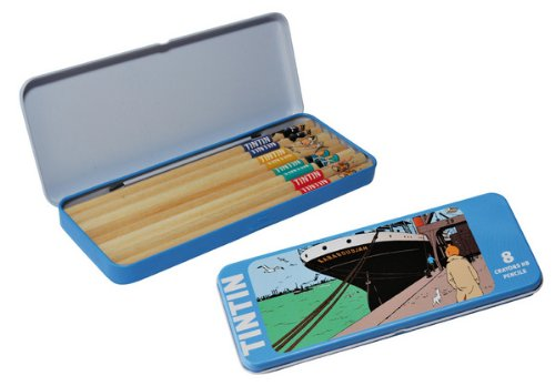 Moulinsart Tintin The Crab with The Golden Claws Pencil Set