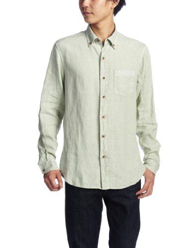 (テイラーヴィンテージ)TAILOR VINTAGE Shirts 3765-318HDW  Solid Linen Honeydew L
