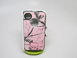 Otterbox Defender Realtree Series- Pink/apc Camo Pattern for Iphone 4/4s - 1 Pack - Case - Retail Packaging .