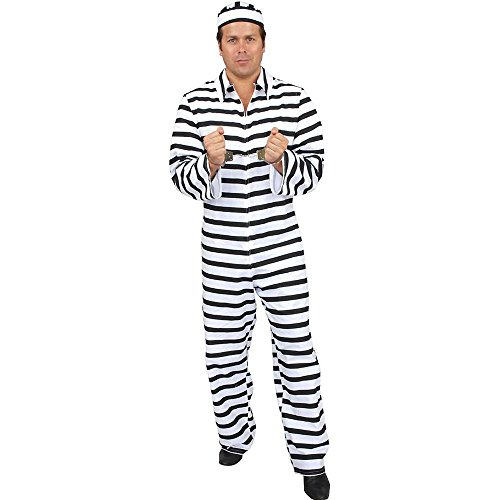 Bad Boy Dept. Of Corrections Adult Costume