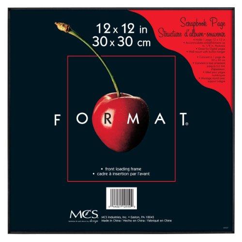 MCS 12 x 12-inch Format Frame, Black