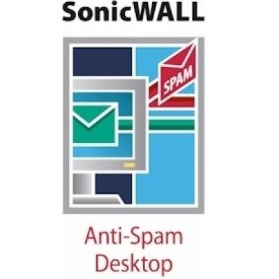 SONICWALL 01-SSC-7456 Anti-Spam Desktop 2 Year Subscription (5 User License)
