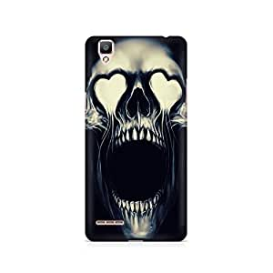 Mobicture Skull Abstract Premium Printed Case For Oppo F1
